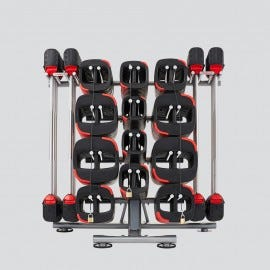 Gen 2.0 - 10 Set Les Mills SMARTBAR™ Rack with 10 Sets of SMARTBAR™ Bar & Weights
