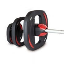 Les Mills SMARTBAR™ Weight Set with Bar + LES MILLS SMARTBAR™ Weight Plate 10kg (2x)