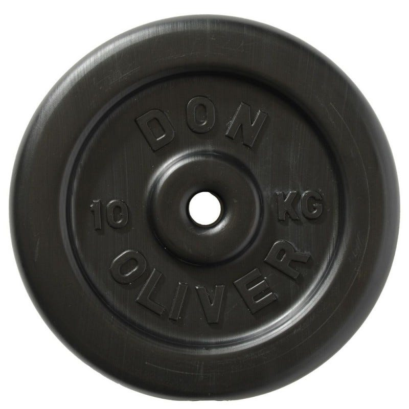Don Oliver 10kg Plate (single) Front View