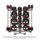 20 Set Les Mills SMARTBAR™ Rack with 20 Sets of SMARTBAR™ bar & weights (Gen 2)