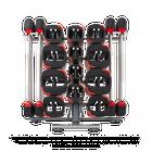 10 Set Les Mills SMARTBAR™ Rack with 10 Sets of SMARTBAR™ bar & weights (Gen 2)
