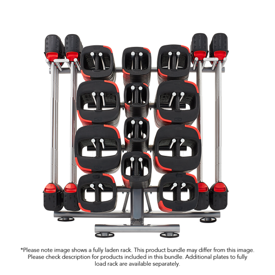 10 Set Les Mills SMARTBAR™ Rack with 10 Sets of SMARTBAR™ bar & weights (Gen 2)