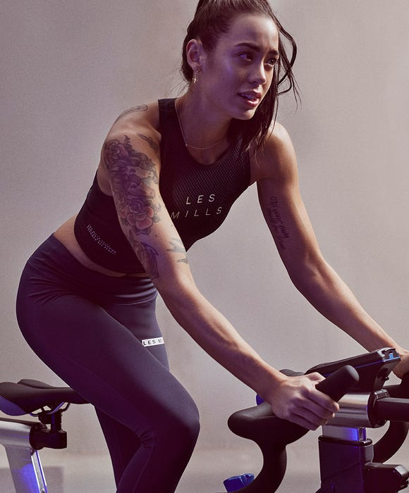MAKE THE MOST  OF YOUR STAGES BIKE  WITH LES MILLS on Demand