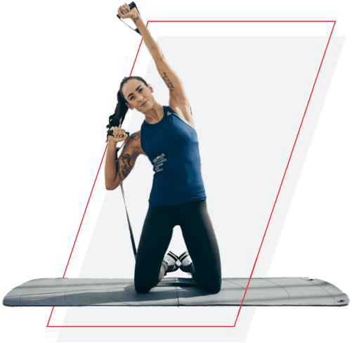 2-sided yoga and exercise mat